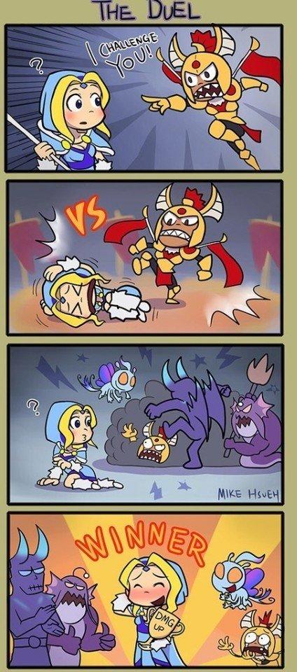 Duel. .