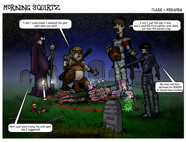 Dungeons and Dragons tribute. Be sure to subscribe so you can catch all the comics!<br /> If you want to see a whole lot more of our crazy ass comics just