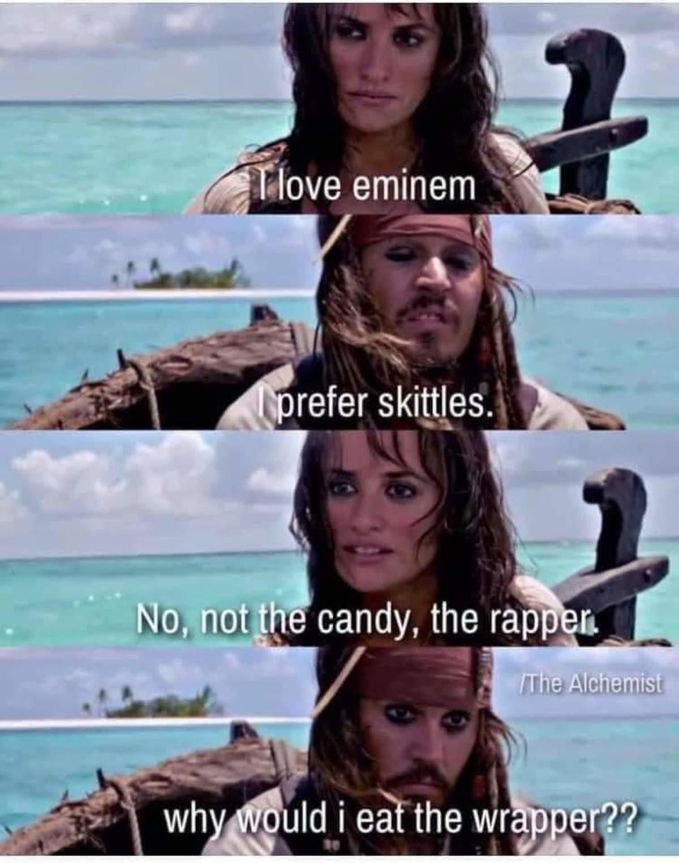 enchanted MemeBoys. .. He didn't say that