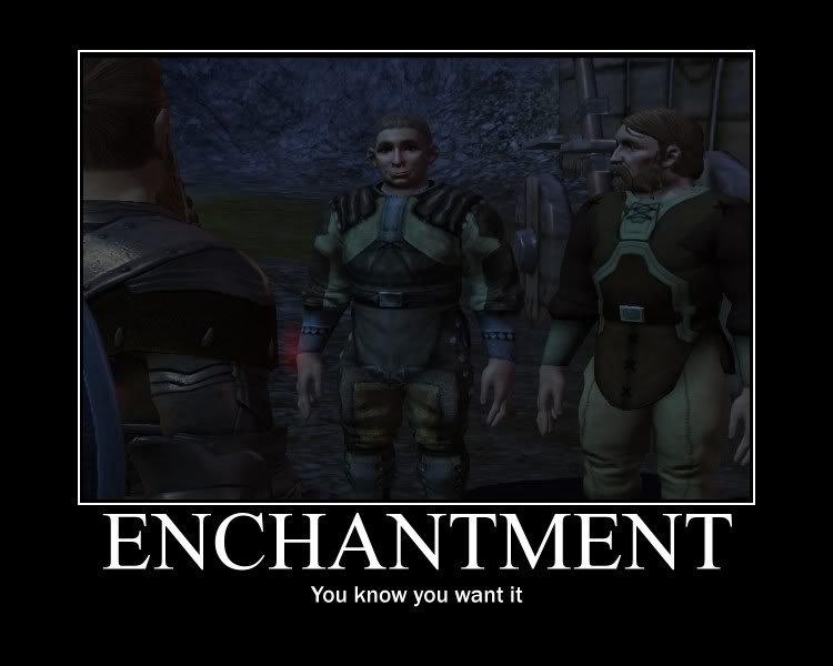 Enchantment?. Enchantment!. CEMENT. Enchantment? ENCHANTMENT!!!
