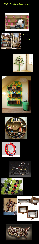 Epic Bookshelves. check description. check tags.. DO WANT