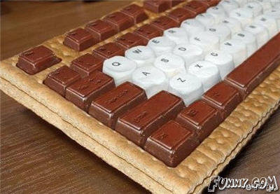 Epic Keyboard. Hungry?.. Haha I think that's... pretty cool