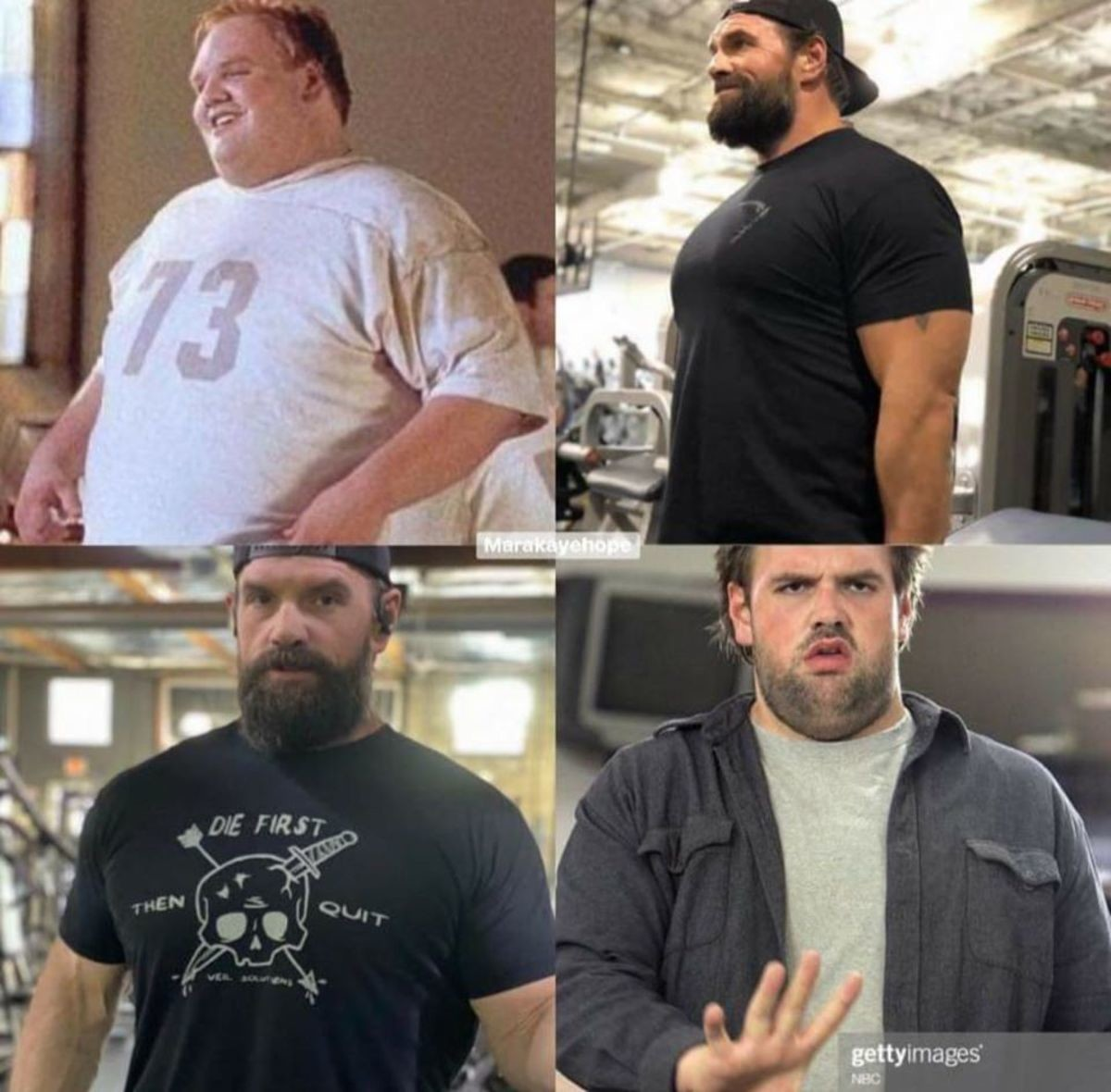 Ethan Suplee is jacked now.. There's hope for us all kings. Stay motivated out there, look for help when you need it, keep your eye on the prize... Hopefully he can see the sailboat now....