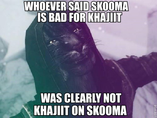 euh euh euh. Reading in that beautiful, sexy, creamy khajiit voice. i, WAS CLEARLY NOT .