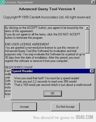 EULA. . Advanced Query Tool Version A C) c) upright@ ? Corbett Associates Ltd.. All right reserved By clicking on the PT button.. you agree to be bound by the A