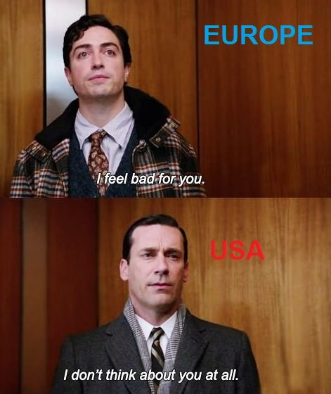 Euro. mad men. II If. USA USA USA