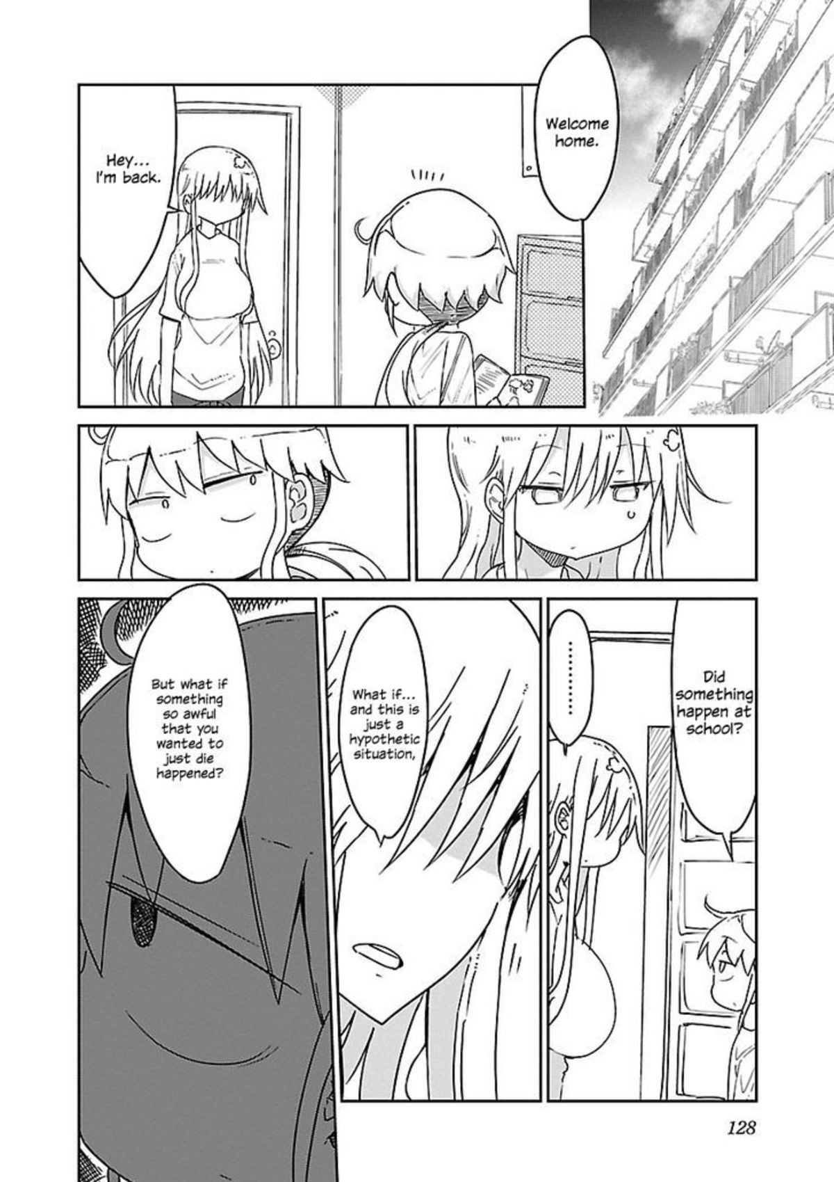 Euro manga just go real. Alot of character development for a manga that's about tits .. Didn't she literally rape him after that?