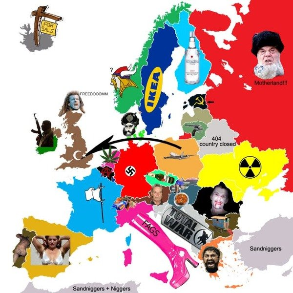 Europe from the view of USA,. This is not true, just thought it was funny so i dumped it on this..hater site. Possible retoast, so dont flag it, pm me...... I cracked up when I saw ''sand .