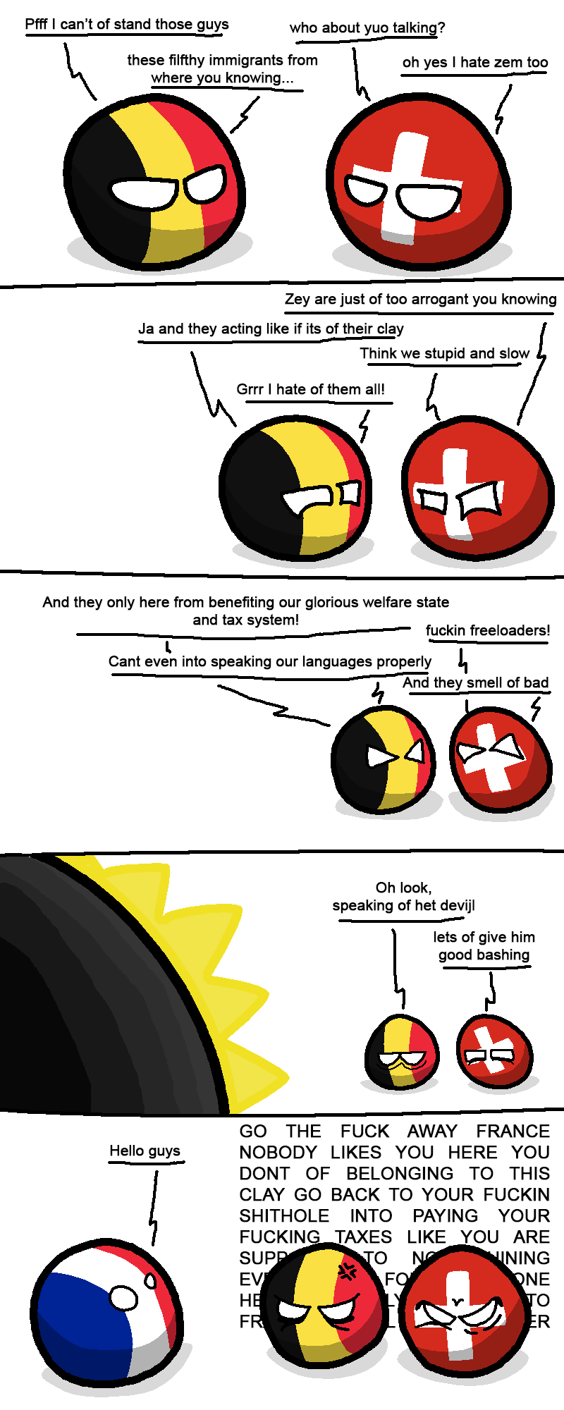 Europe Immigration. r/polandball You can put your hate on immigration in the comment section. I see more hate on Arabs than on Mexicans in this website when it