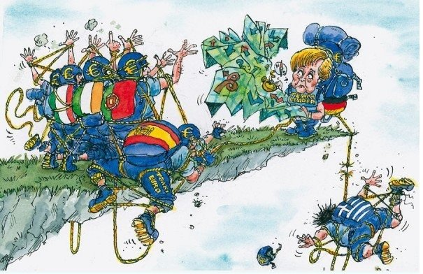 Europe is falling. .. I'm glad Norway never joined the EU. GG NO RE.