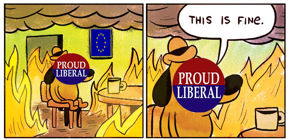 Europe right now. Belgians has it rough thanks to smart policies of immigration.. Ill Etti ,. just so you know, a liberalism in europe is what you call of classic liberalism (i.e small government, laisez faire policies) and not social liberal like it doe