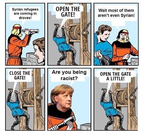 Europe. . racist? U. LITTLE!