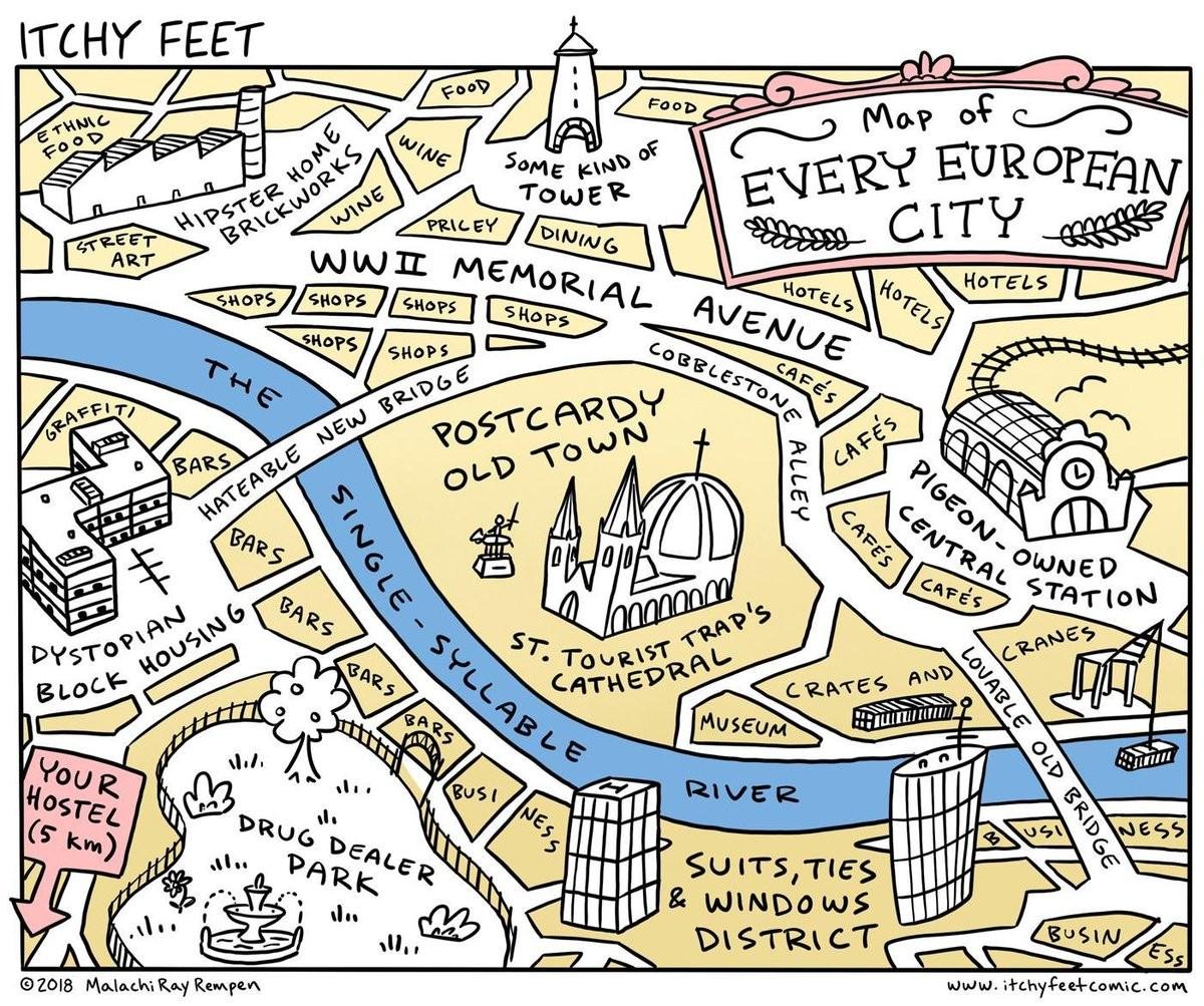 Europe. .. American city planning