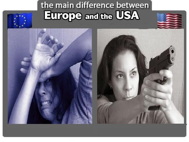 "Europe vs USA. . the main difference between Europe and the USA. Maybe you forgot. Most of those ""hot women actresses"" are european descendents."