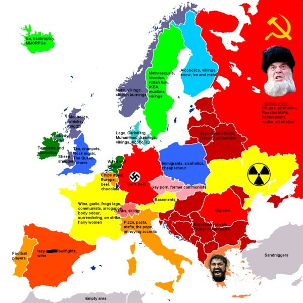 Europe's Stereotypes. .. spell fix SterEotypes
