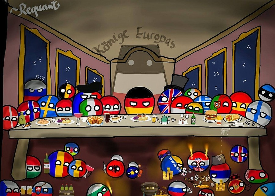 europe. .. Fake and gay we dont have that much money