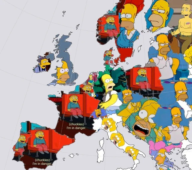 europe. .. what does the UK one say?