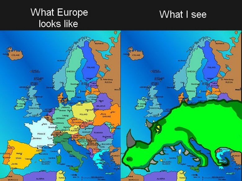 """Europe is a dinosaur. The next one : <a href=""""pictures/1595745/Europe+through+my+eyes/"""" target=blank>"""