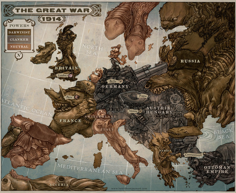 Europe map. .. This used to be my wallpaper