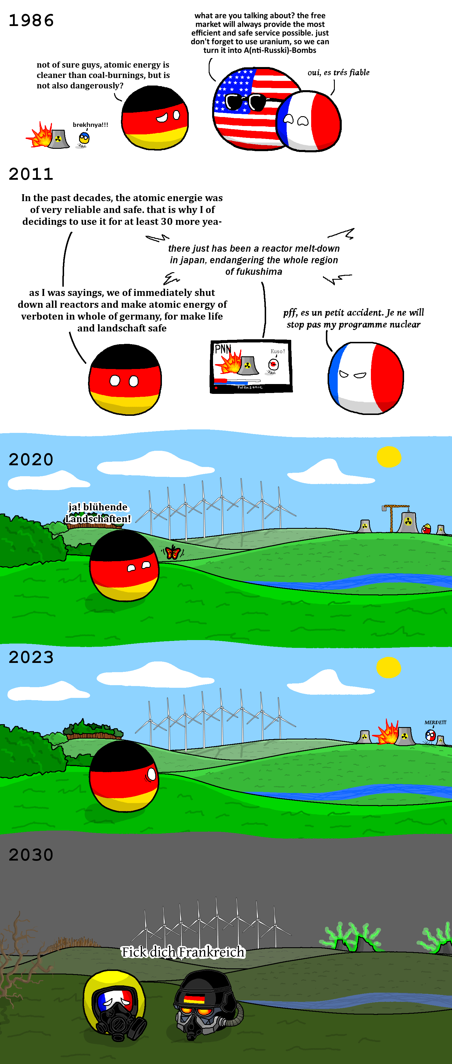 European Fallout. r/polandball. 1 9 8 6 what are you talking about? the free market will always provide the most efficient and safe service possible. just don'