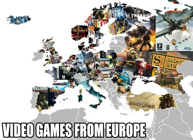 European Game Devs (bigger version). The other version was too small so I found a bigger one Send me a friend request.. As a side note, Ireland makes the Havok physics engine