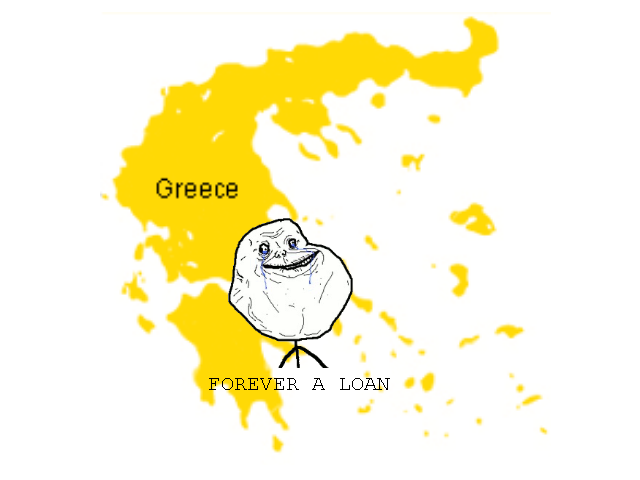European financial crisis. poor old greece.... I think USA is in deeper , If it's accurate that is :D