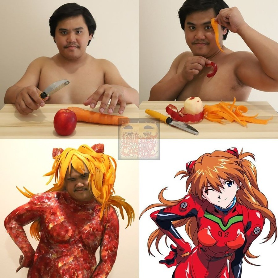 Evangelion and his Lonely man. .. hesamanoffocus.png