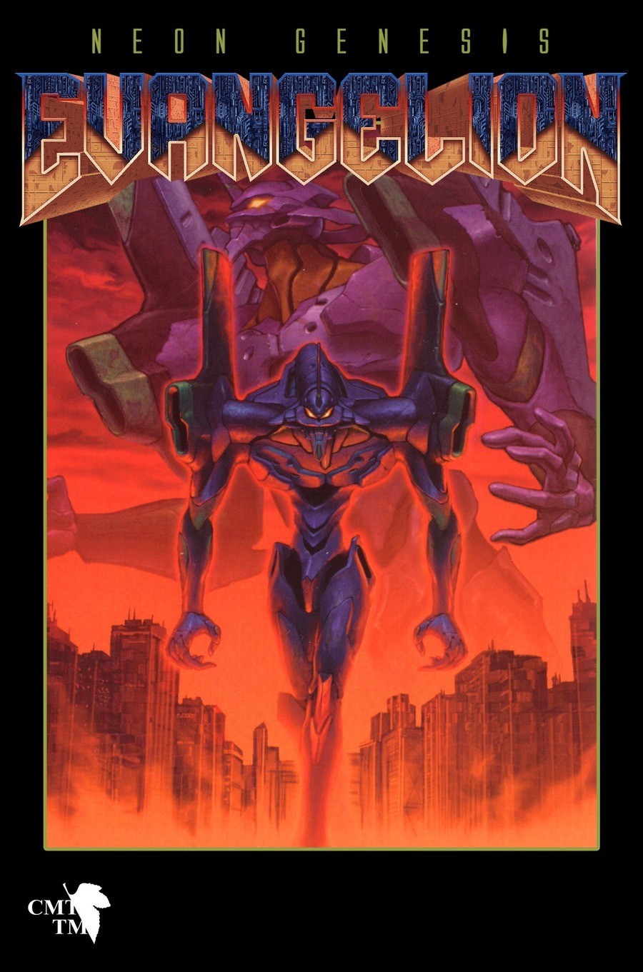 Evangelion Doom Style. .. 10/10, would play. Although it's extremely ironic. Doomguy could give less of a about anything and everything that's happening. He's just in constant rage mode.