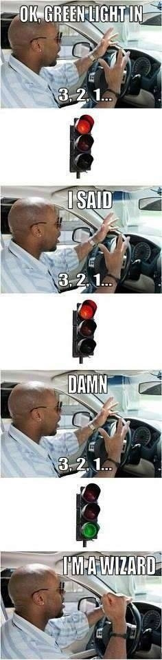 Every time. .. its easier if u watch the timer countdown on the pedestrian crosswalk lights.