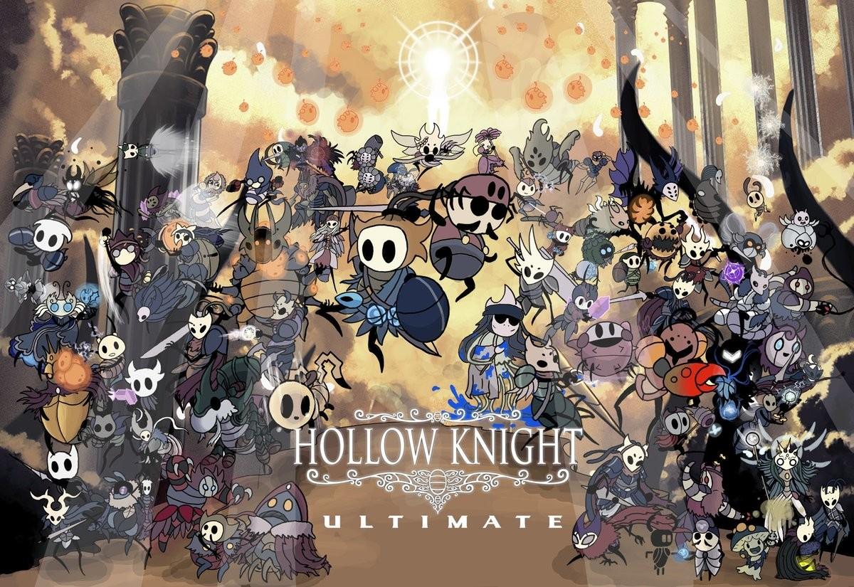 Everyone is bugs. Smash Bros Ultimate characters portrayed as HollowKnight bugs by lubellide00..