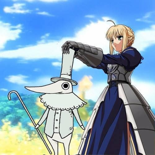 EXCALIBUR. join list: SmolHol (1473 subs)Mention History join list:. I'm sorry but the fact that excalibur isn't holding both hands on his cane standing in the same position is a missed opportunity