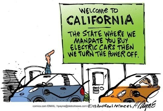 """exorbitant troubled helpless Idiots. .. California is a case study in how NOT to operate a state, if you turned off federal support it would look like Iraq during it's """"liberation""""."""