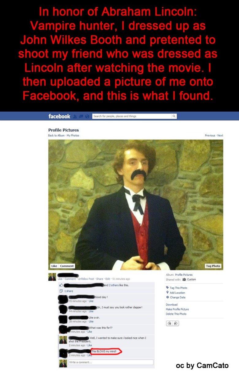 Facebook (1). My title is so original.. Hi Tommy :)