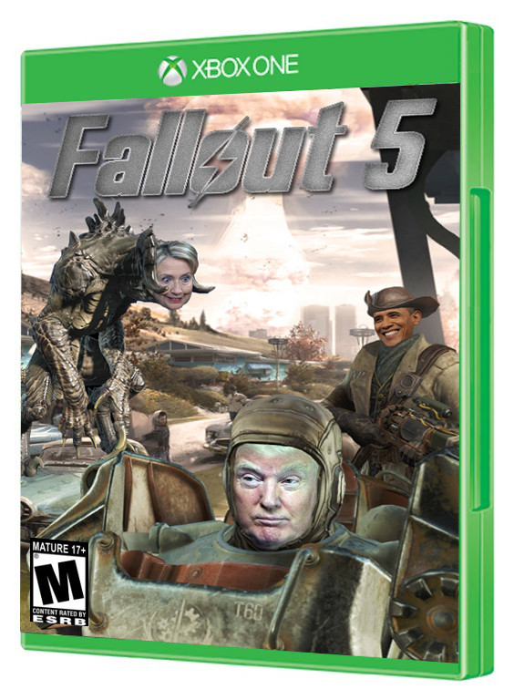 """Fallout 5 Confirmed. .. """"there's another wall that needs our help"""""""