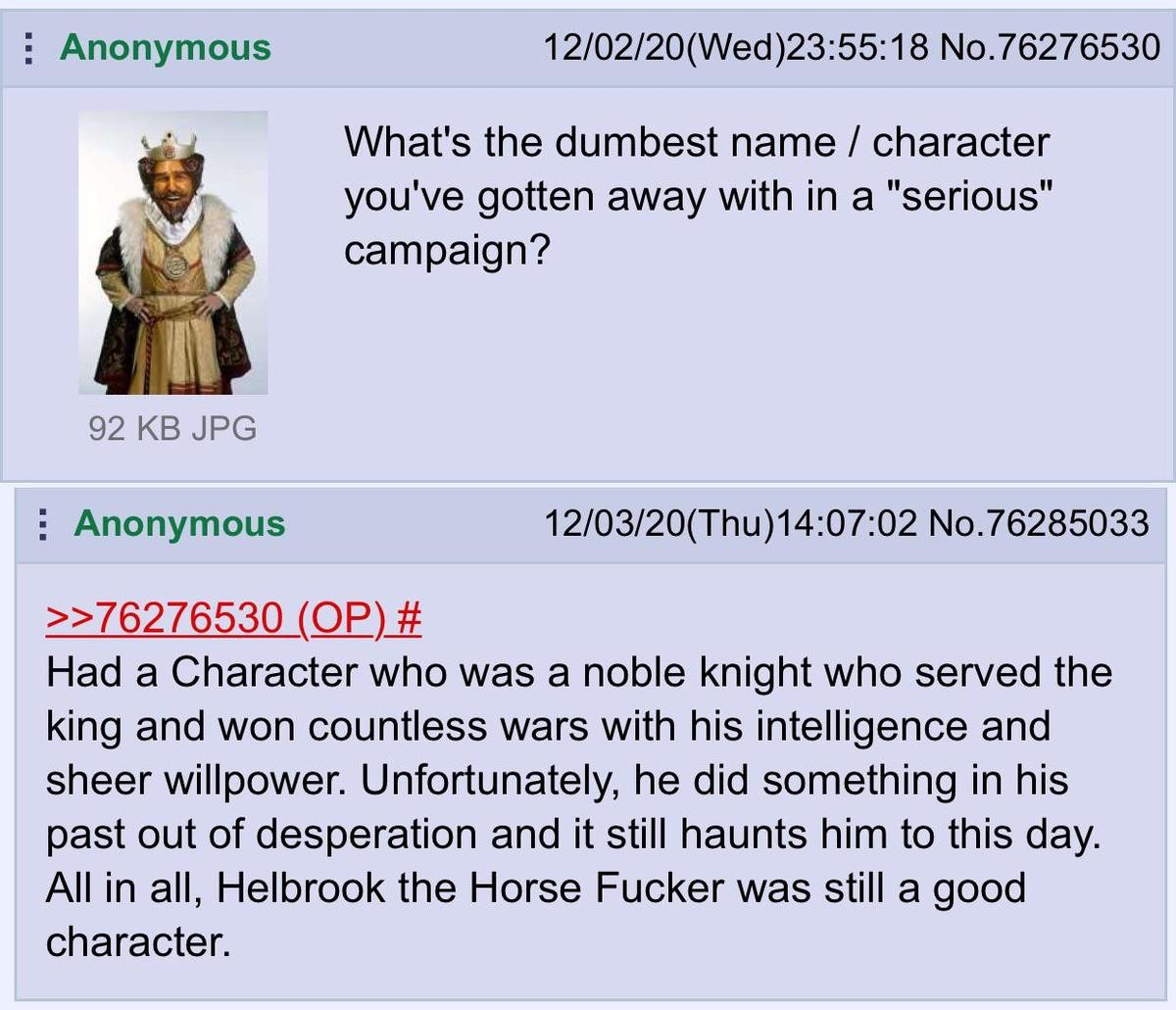 "far-flung untidy flickering Leopard. .. You serve the King for years and nobody calls you ""Helbrook the Kingsblade"" You win countless wars and nobody calls you ""Helbrook the unstoppable"
