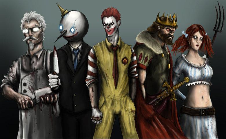 "Fast food will kill you. ""It's simple... we KILL the fat man...."".. Marsmellow man as a bonus character"
