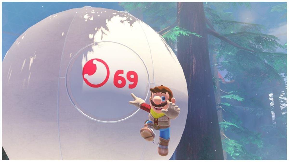 Favorite screenshot I've taken in Super Mario Odyssey so far. .. Nice.