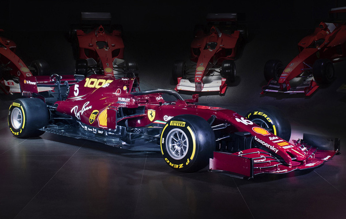 Ferrari's Livery for 1000th Race. Paying homage to the Ferrari 125 S and 125 F1 join list: Motorsports (190 subs)Mention History.. Looks beautiful, a shame the car slow. I hope for them they at least finish in the points.