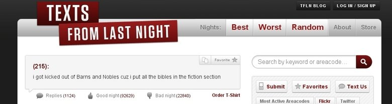 """Fiction. . TFLN ELISE LOG """" t SIGN Jmi Random About i got kicked out tit Barns and Natalee we i put all the bibles in the fiction section e, r, r', Submit -"""" Fa"""