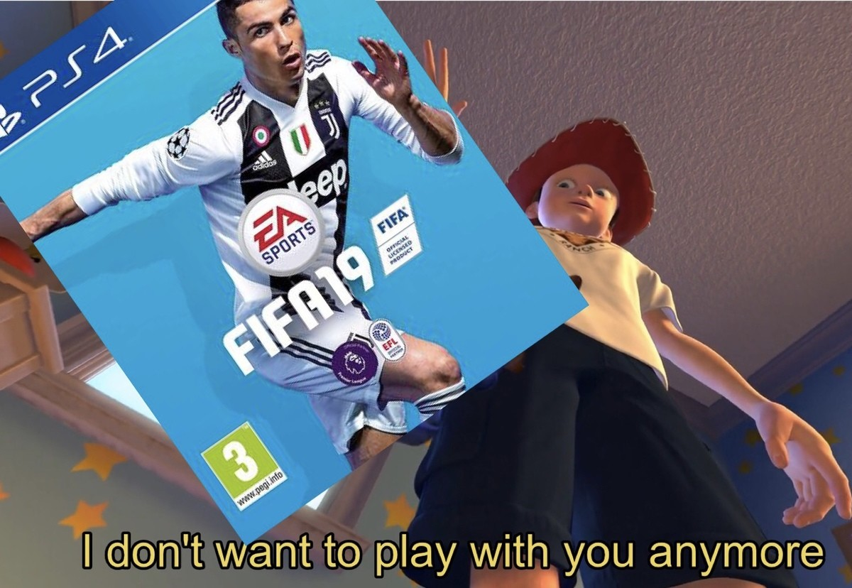 FIFA fans who buy the game every year. .. I don't want to venture into the realm of hyperbole here but the people who buy FIFA games are worse than a million Hitlers. EA makes so much money from MTX in