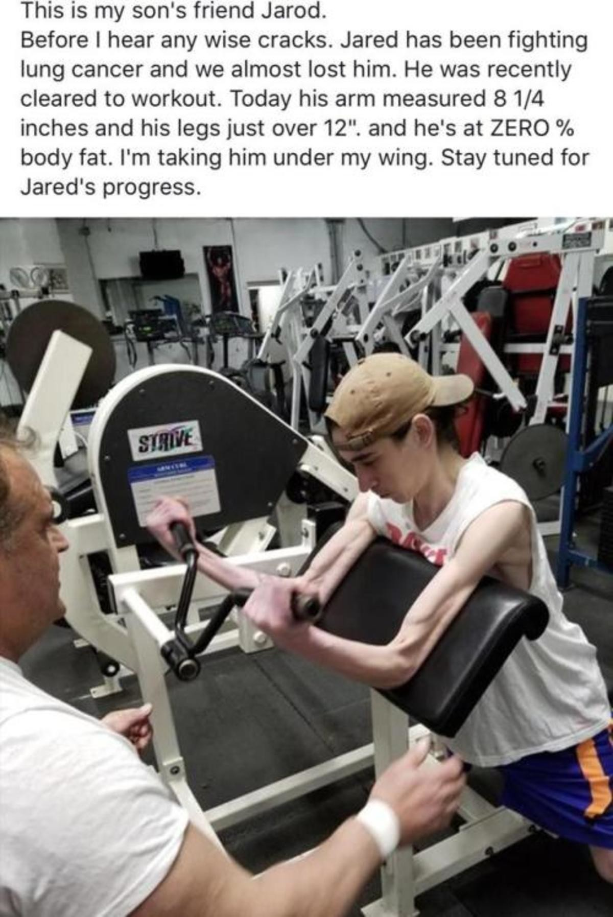 Fighting spirit. No matter how much i lift, i dont think il ever be as strong as this guy. join list: HappyThoughts (1573 subs)Mention History. This is my son'