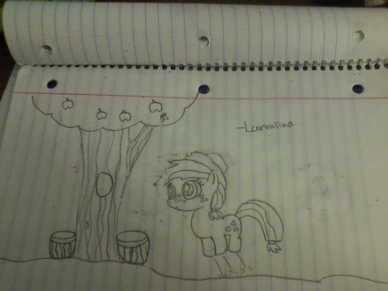 Filly AppleJack. Any Requests? ↓ Thank You (:.. Ponies with monocles and top hats please. :-D