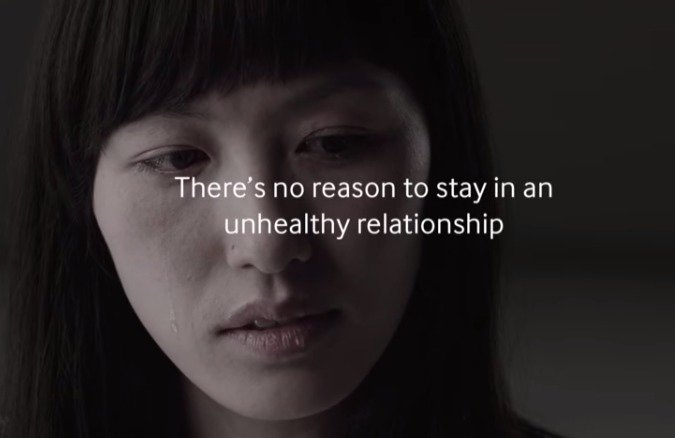 First world problems are problems too. Sadvertising parody from Samsung: . l no reason to stay in an wealthy relationship. Asians have emoticons?