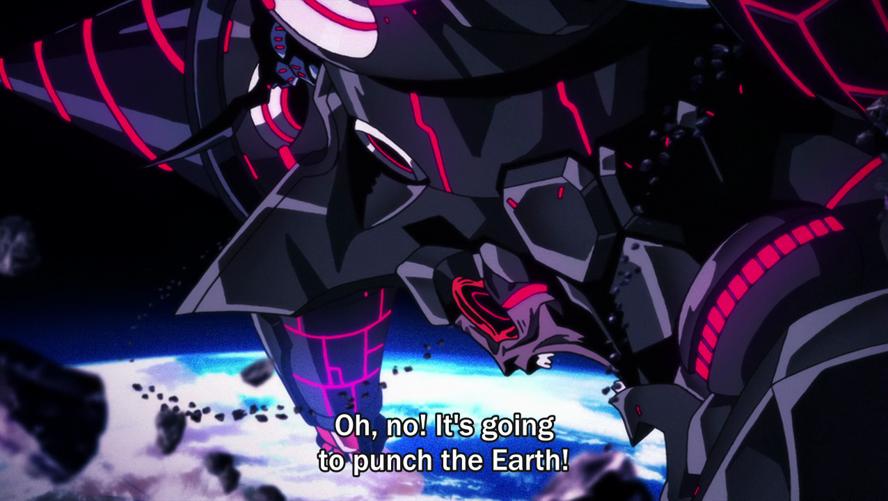 Fisting. My favorite line in any show... Well he already destroyed Uranus.