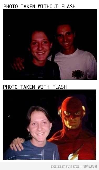 Flash. its quite punny!. PHUTT TAKEN WITHOUT FLASH PHUTT TAKEN WITH FLASH. luv it!