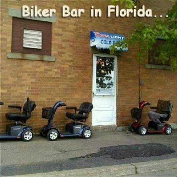 Florida 2. Source: dumpaday. Bike? Bar in Florida... to, Veet