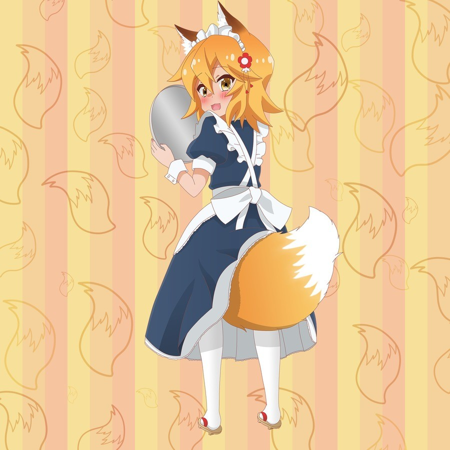 Fluffy Fox Maid. .. Mandatory.