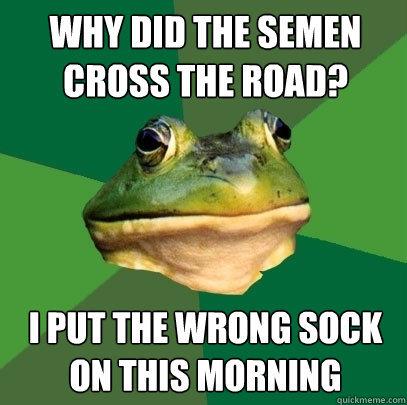 Foul Bacheolor Frog. Crunch, crunch, crunch.. WHY MII m SIIHEN m MMP I PM m WINNIE SINK thi THIS