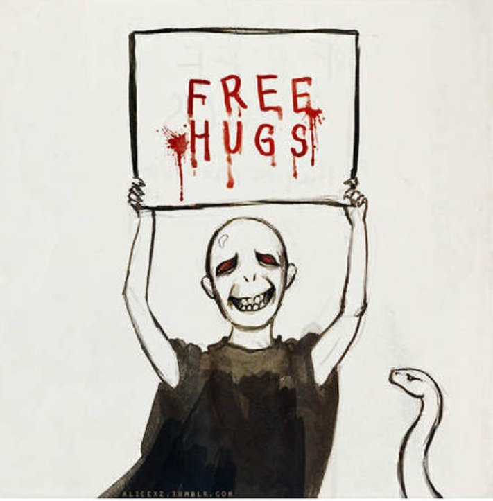 FREE HUGS!. I hope you enjoyed it! Check out the link below for another post you may like. Thanks for looking! .. inb4 front page