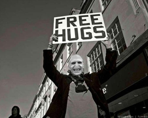 Free Hugs?. hope you laughed thumb up or down .